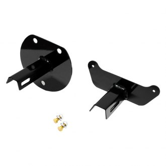 EVO Manufacturing® - Black License Plate Relocation Bracket