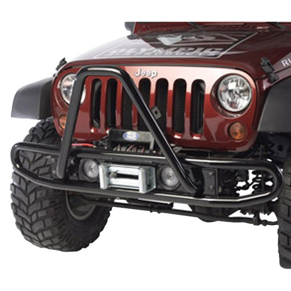 Olympic 4x4® - Gloss Black Front Bumper Bar
