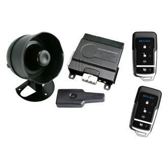 Omega R&D® - Deluxe 4-Button Vehicle Security and Remote Start System with Up to 1,500 Feet Range