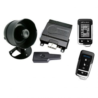 Omega R&D® - Excalibur™ Deluxe 2-Way Vehicle Security and Remote Start System with Up to 1,500 feet of Range