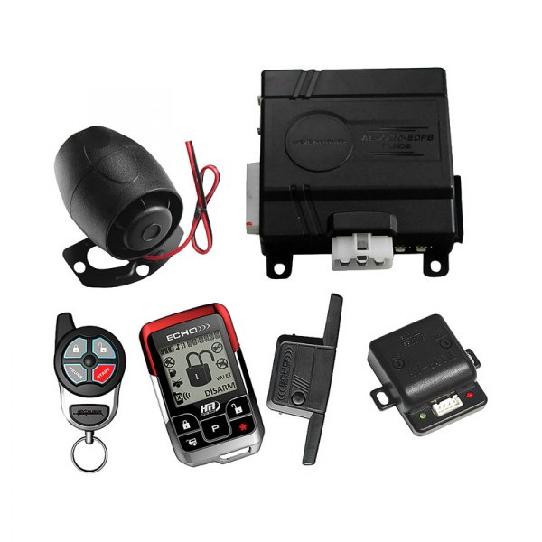 Omega R&D® - Deluxe Color 2-Way Vehicle Security and Remote Start System with Up to 1 mile Range