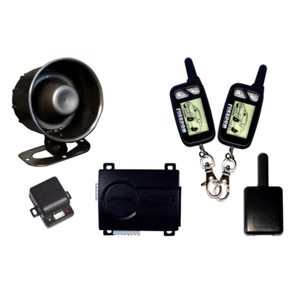 Omega R&D® - K9™ LCD 2-Way Vehicle Security and Remote Start System with Up to 1,500 feet of Range