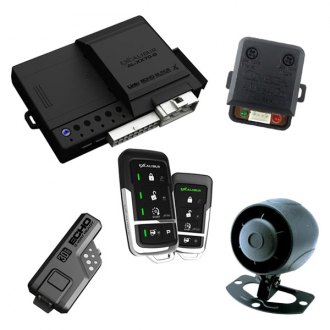 Omega R&D® - Excalibur™ Deluxe LED 2-Way Vehicle Security and Remote Start System with Up to 3,000 feet of Range