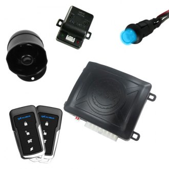 Omega R&D® - Excalibur™ 1-Way Vehicle Security and Keyless Entry System with Up to 500 feet of Range