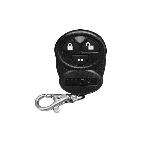 Omega R&D® - Replacement Remote For MUNDIAL-3 3-Button Black