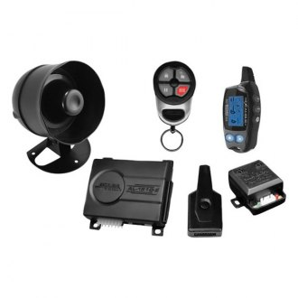 Omega R&D® - Excalibur™ LCD 2-Way Vehicle Security and Keyless Entry System with up to 1,500 feet of Range