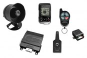 Omega R&D® - Excalibur 2-Way Vehicle Security and Remote Start System, 1500 Ft. Range, Rechargeable Remote