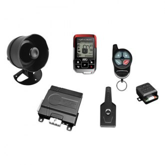 Omega R&D® - Excalibur 2-Way Vehicle Security and Remote Start System, 1-Mile Range, Rechargeable Remote