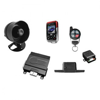 Omega R&D® - Excalibur 2-Way Vehicle Security and Remote Start System, 1-Mile Range, Non-Rechargeable Remote, Color LCD