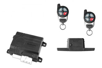 Omega R&D® - Excalibur 1-Way 1-Mile Range Keyless Entry and Remote Start System