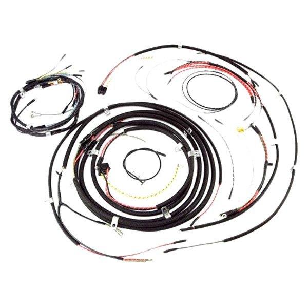 omix ada jeep willys cj 3 1950 wiring harness rh carid com