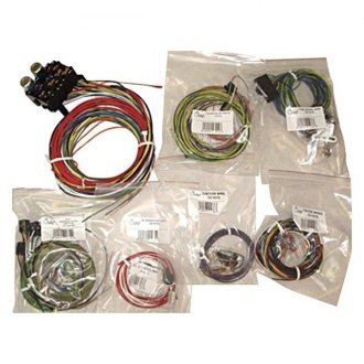 1966 Jeep CJ Wiring, Cables & Connectors at CARiD.com Jeep Cj Wire Harness on