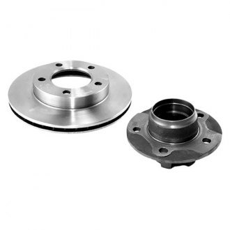 Omix-ADA® - Front Brake Rotor and Hub Kit