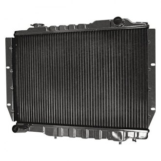 Omix-Ada® - Radiator, 2 Core, Cap Off-Set To Driver Side