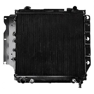 Omix-ADA® - 1 Core Engine Coolant Radiator