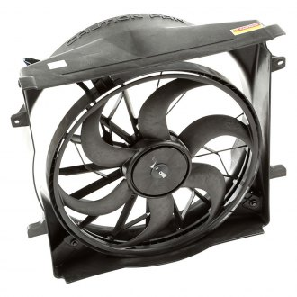 Omix-ADA® - Radiator Fan Assembly with 3 Pin Connector