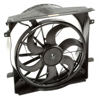 Omix-ADA® - Radiator Fan Assembly with 2 Pin Connector