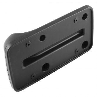 Omix-ADA® - Front Black License Plate Bracket