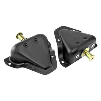 Omix-ADA® - Black Door Latch Striker Brackets