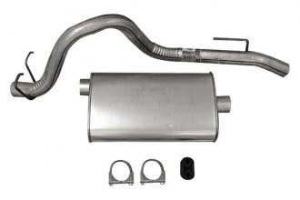 Omix-ADA® - Steel Muffler and Tailpipe Kit