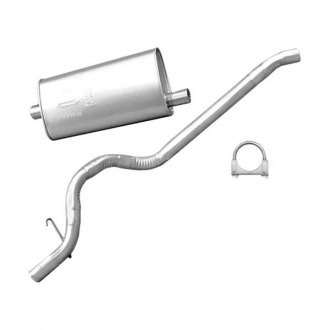 Omix-ADA® - Exhaust Muffler and Tailpipe Kit