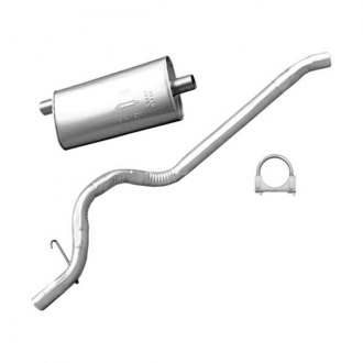 Omix-ADA® - Aluminized Steel Oval Muffler and Tailpipe