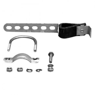 Omix-ADA® - Steel-Rubber Swivel Exhaust Hanger with Clamp and Hardware