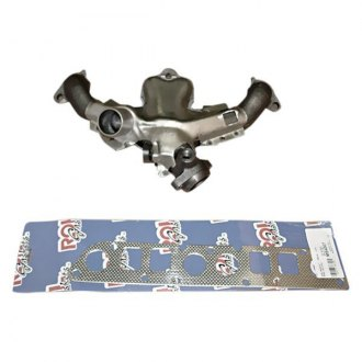 Omix-ADA® - Steel Raw Exhaust Manifold Kit