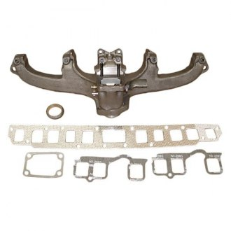 Omix-ADA® - Steel Black Exhaust Manifold Kit