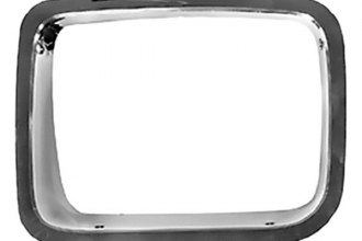 Omix-Ada® - Chrome Headlight Bezels