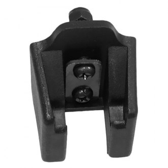 Omix-ADA® - Black Powercoated Hood Catch Bracket