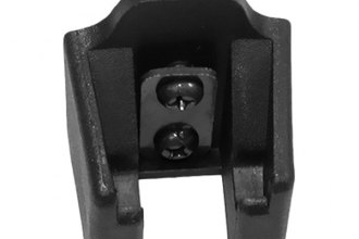 Omix-ADA® - Replacement Black Powercoated Hood Catch Bracket