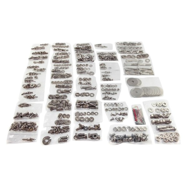 Omix-Ada® - Body Fastener Kit (754 Pieces)