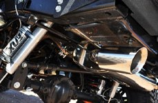 Omix-Ada® - Performance Exhaust System on Jeep Wrangler