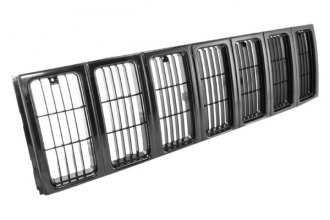 Omix-ADA® - Replacement Black Grille Insert