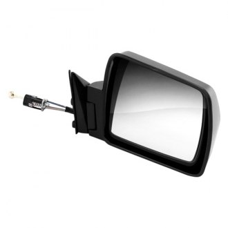 Omix-Ada® - Passenger Side Black Manual Mirror (Folding, Remote)
