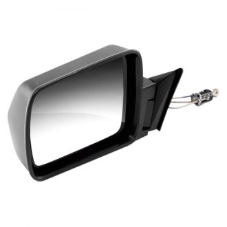 Omix-Ada® - Driver Side Black Manual Mirror (Folding, Remote)