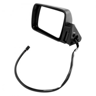 Omix-Ada® - Driver Side Black Power Mirror (Folding, Remote)