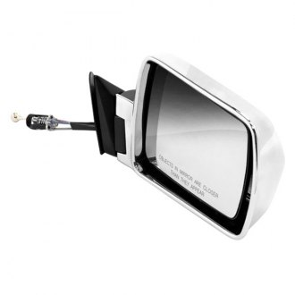 Omix-Ada® - Passenger Side Chrome Manual Mirror (Folding, Remote)