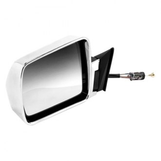 Omix-Ada® - Driver Side Chrome Manual Mirror (Folding, Remote)