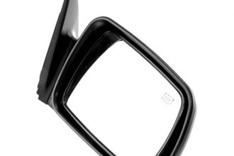 Omix-Ada® - Passenger Side Black Power Mirror (Folding, Remote, Heated)