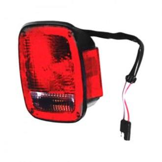 Omix-ADA® - Replacement Black Tail Light