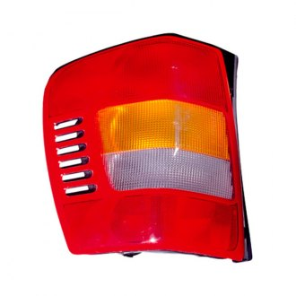 Omix-ADA® - Replacement Chrome Tail Light Assembly