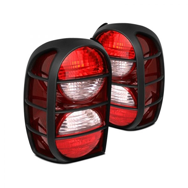 Omix-Ada® - Black Replacement Housing Tail Light (Right)