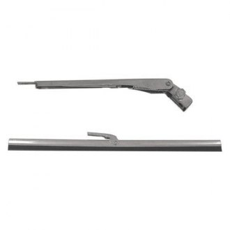 Omix-ADA® - Front Electric Windshield Wiper Arm and Blade Kit