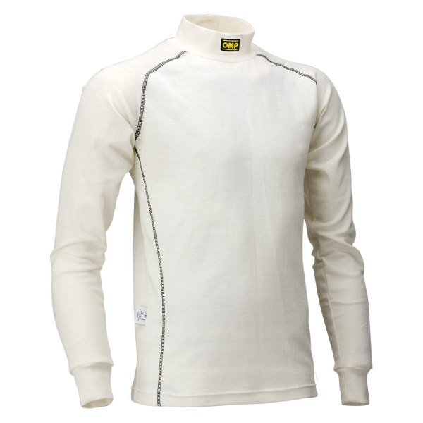 OMP® - Classic Series Racing Undershirt, XXL Size, White