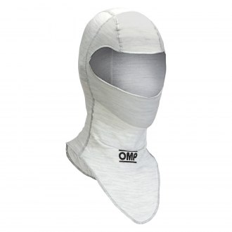 OMP® - One Series Racing Balaklava, S Size, White
