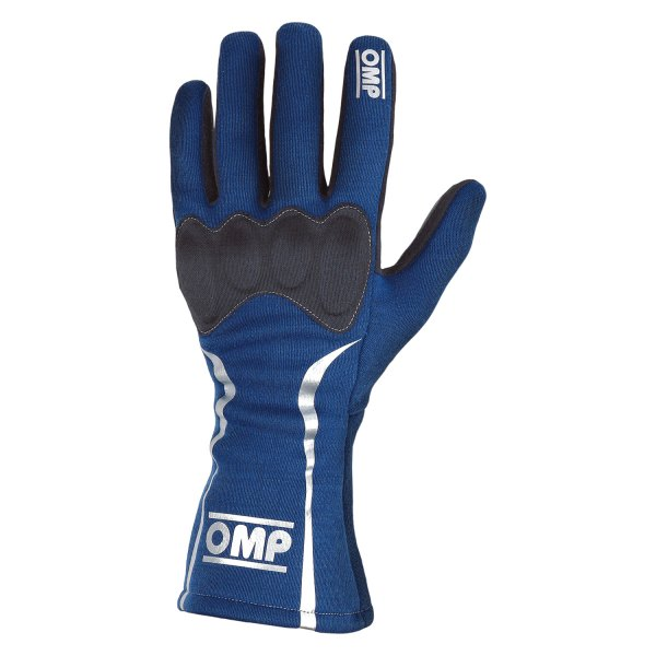 OMP® - Mistral Series Racing Gloves, S Size, Blue