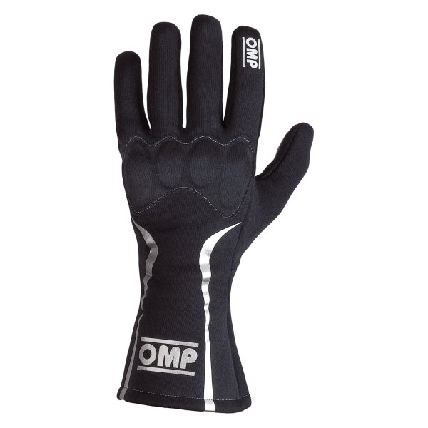 OMP® - Mistral Series Racing Gloves, M Size, Black