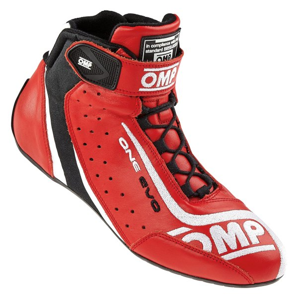 OMP® - One EVO Series Driving Shoes, 42 Size, Red